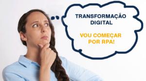 Transformação digital através do RPA